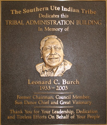 Town joins Southern Ute Tribe in honoring late chairman Leonard Burch