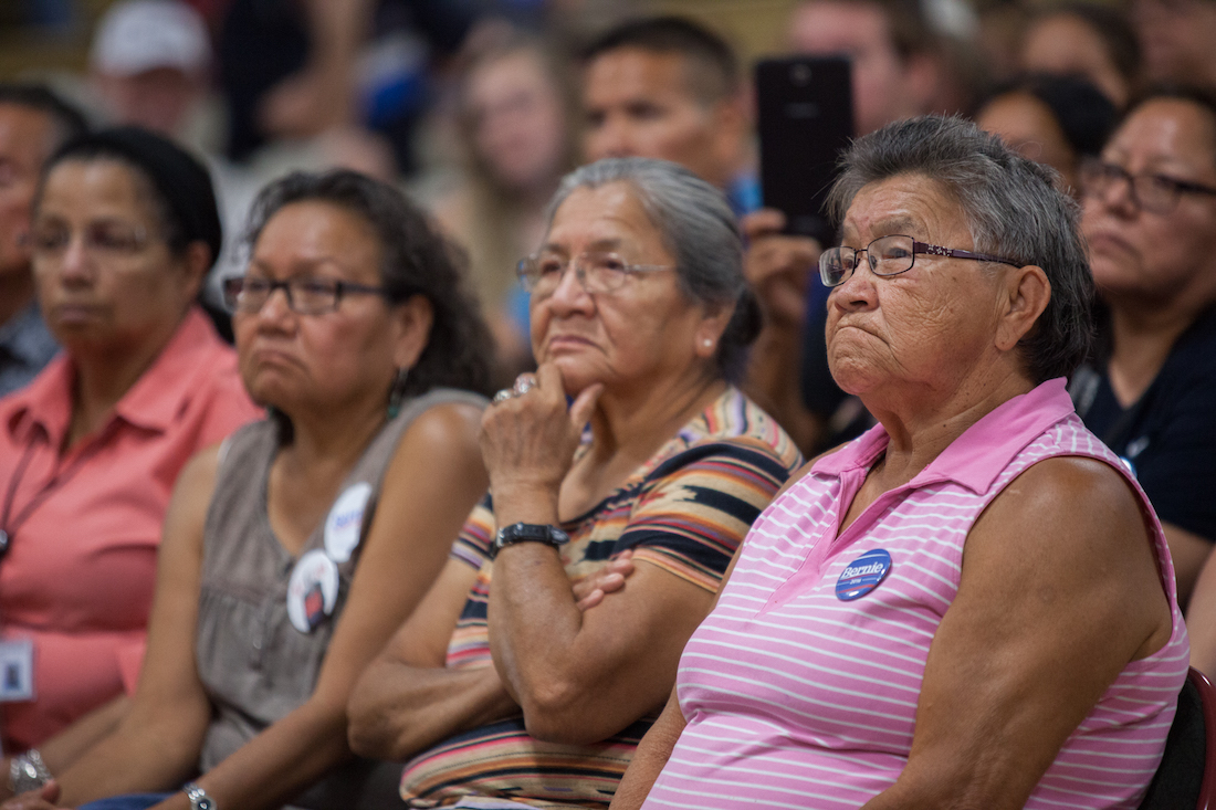Bernie Sanders won Democratic precinct on Meskwaki Reservation