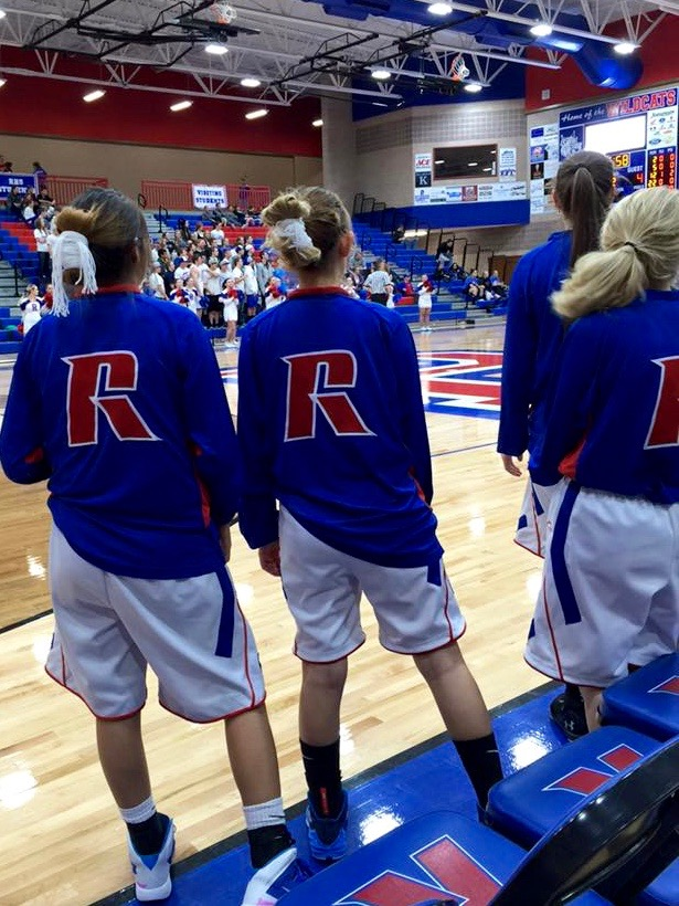 Basketball Players From Richfield Residential Hall In Utah Showed Their Support By Wearing Tsiiyeel On The Court Photo Facebook