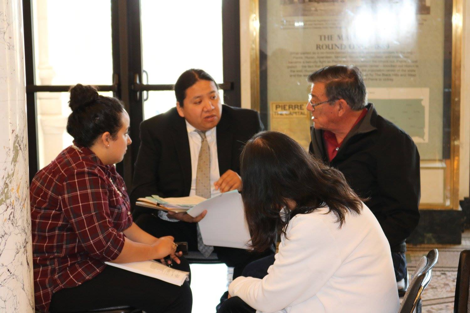 Lakota Country Times: Indian lawmakers oppose drug testing bill