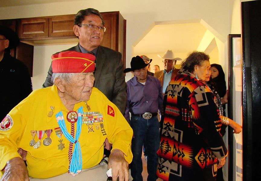 President of Navajo Nation to sign bill for veterans department