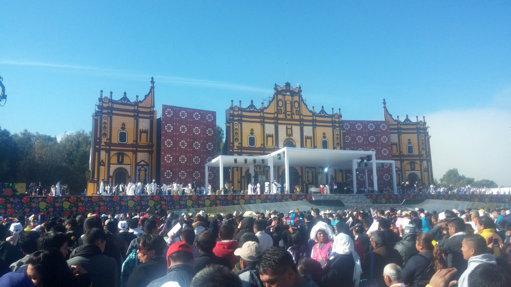 Pope Francis discusses mistreatment of Native people in Mexico