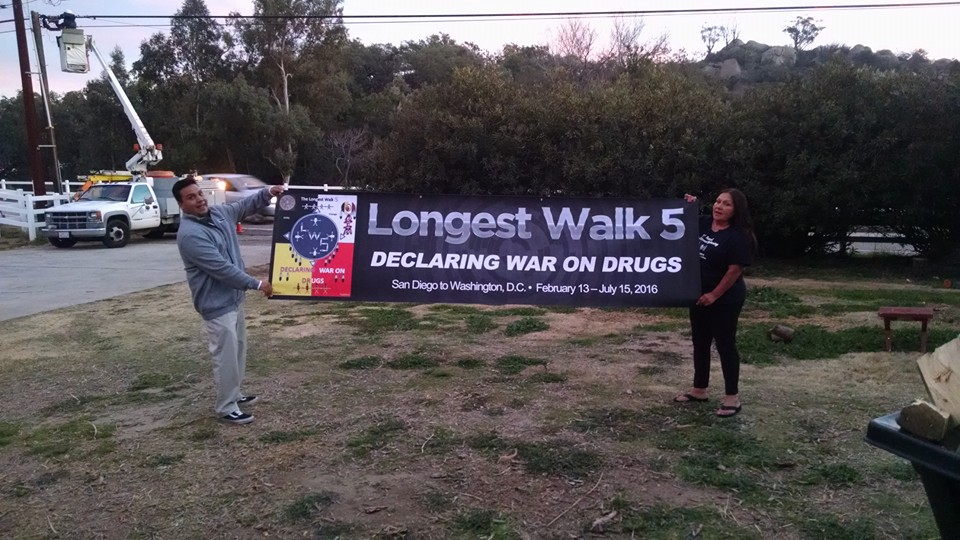 Longest Walk 5 kicks off in California en route to nation's capital
