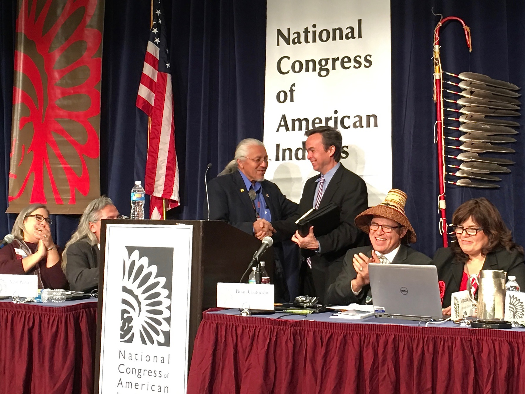 Bureau of Indian Affairs in final push as Obama era nears its end