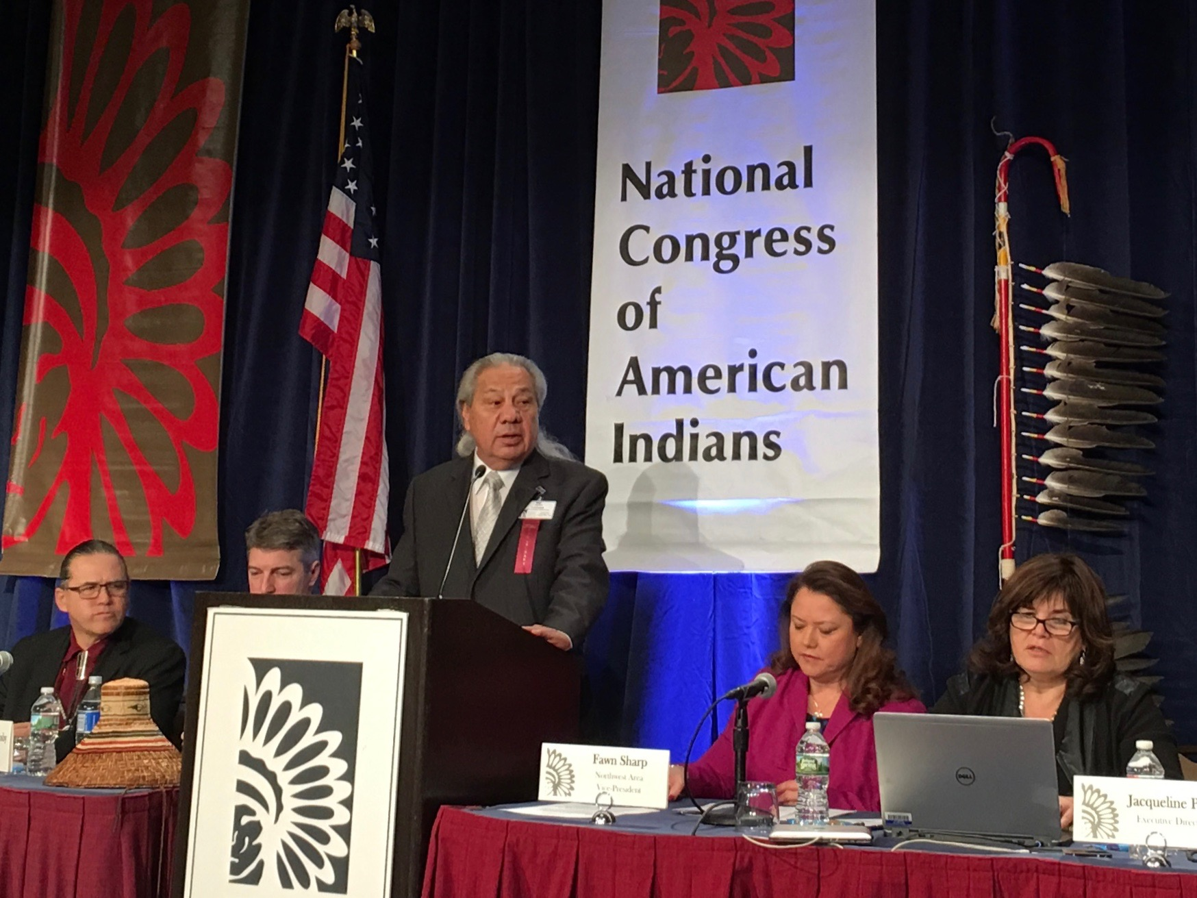 Updates from Day 2 of National Congress of American Indians winter session in D.C.