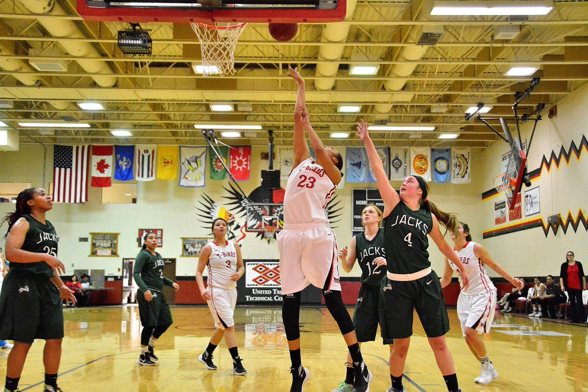 Basketball teams at United Tribes Technical College finish strong