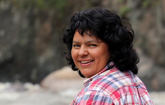 Indigenous leader Berta Caceres murdered at home in Honduras