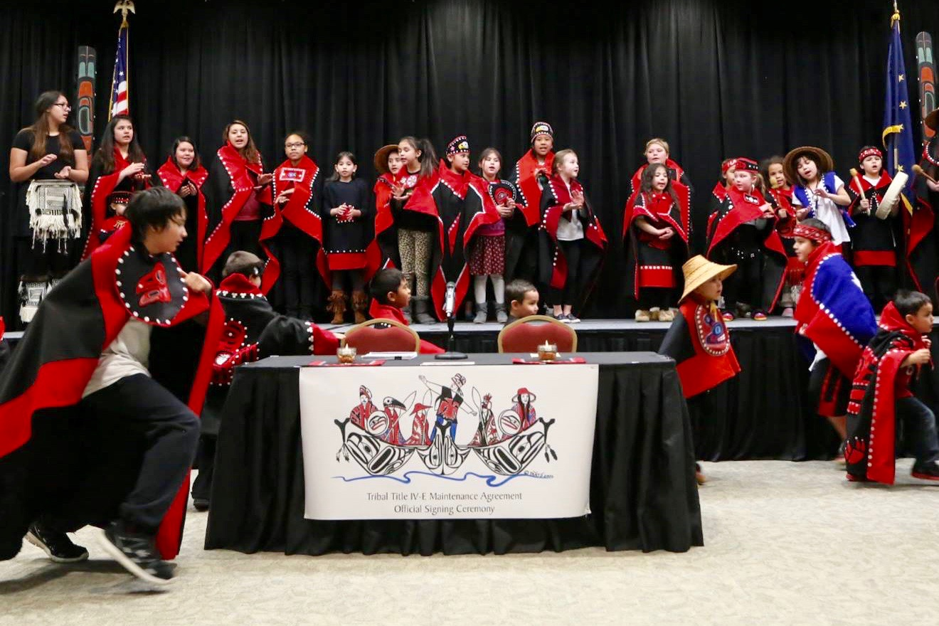 Tlingit and Haida Tribes finalize historic child welfare agreement