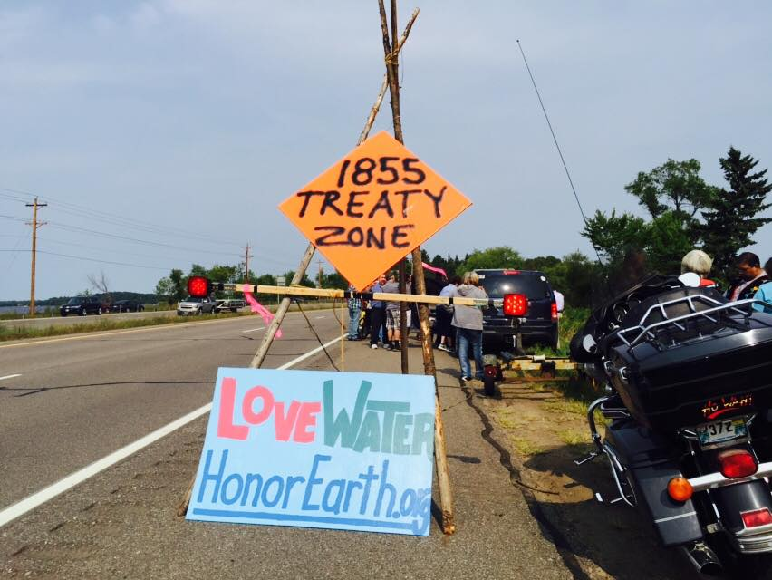 Members of Leech Lake Band assert off-reservation treaty rights