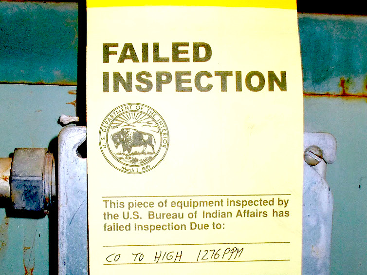 Bureau of Indian Affairs reports progress in inspections at schools