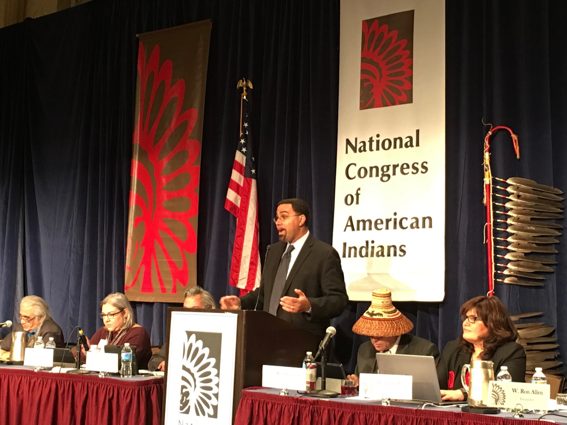 Education Secretary John King headed to Pine Ridge Reservation