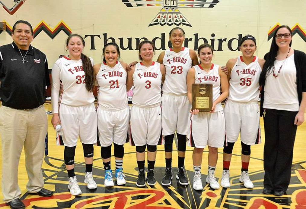 United Tribes Technical College girls basketball team in tourney