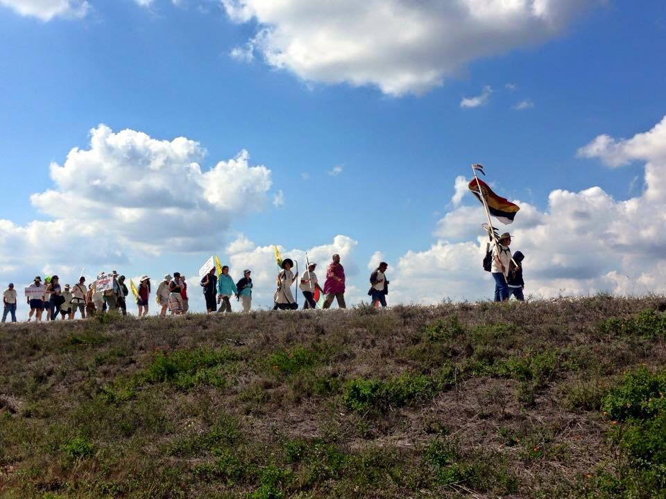 Activists lead 80-mile Walk for Mother Earth through Everglades