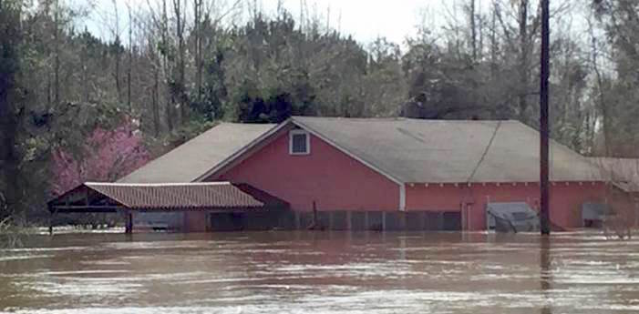 Jena Band of Choctaw Indians suffers from flooding in Louisiana