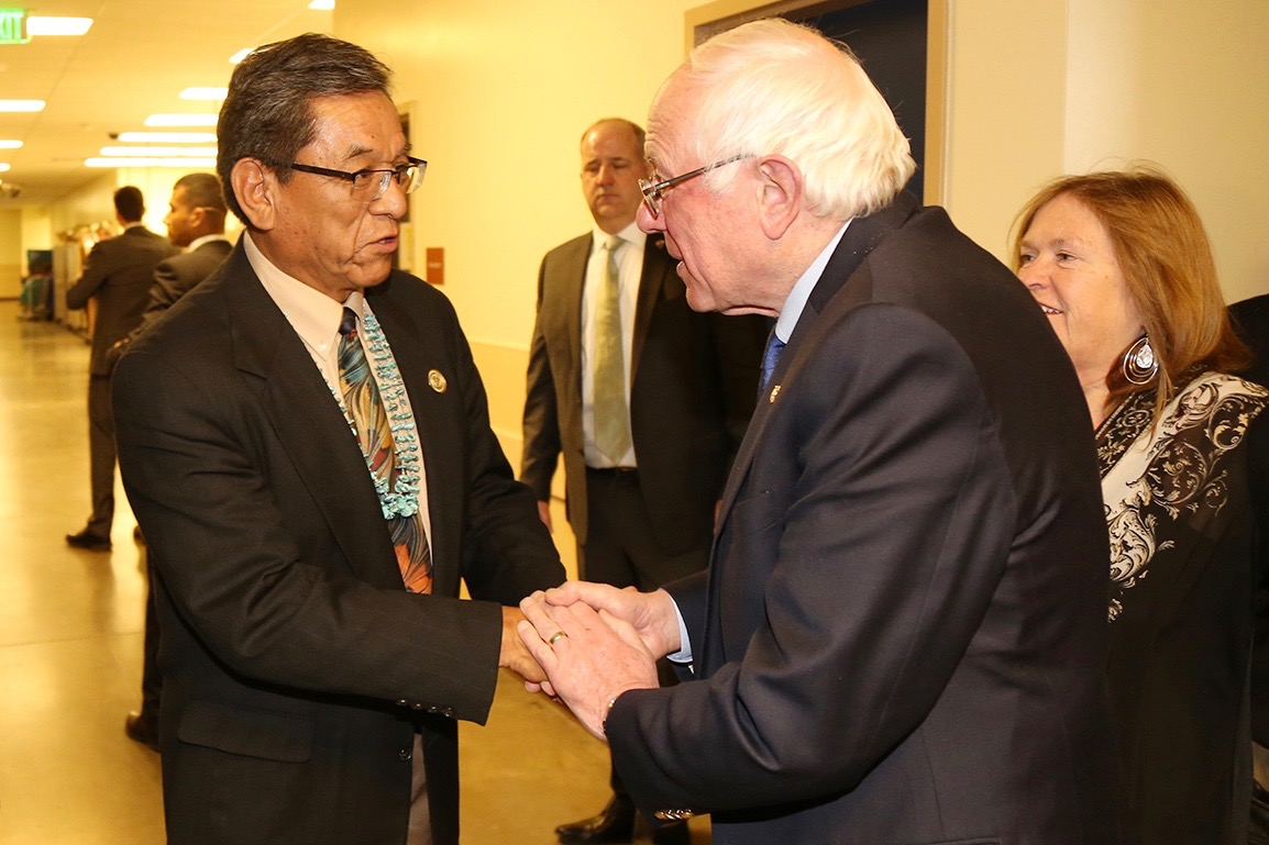 Native push for Bernie Sanders fails to translate into more votes
