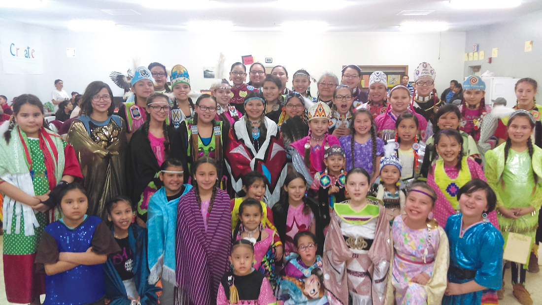 Native Sun News: Wambli Ska group helps empower Native girls