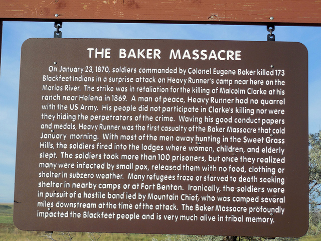 Scott Parker: Book exposes massacre of Blackfeet village in 1870