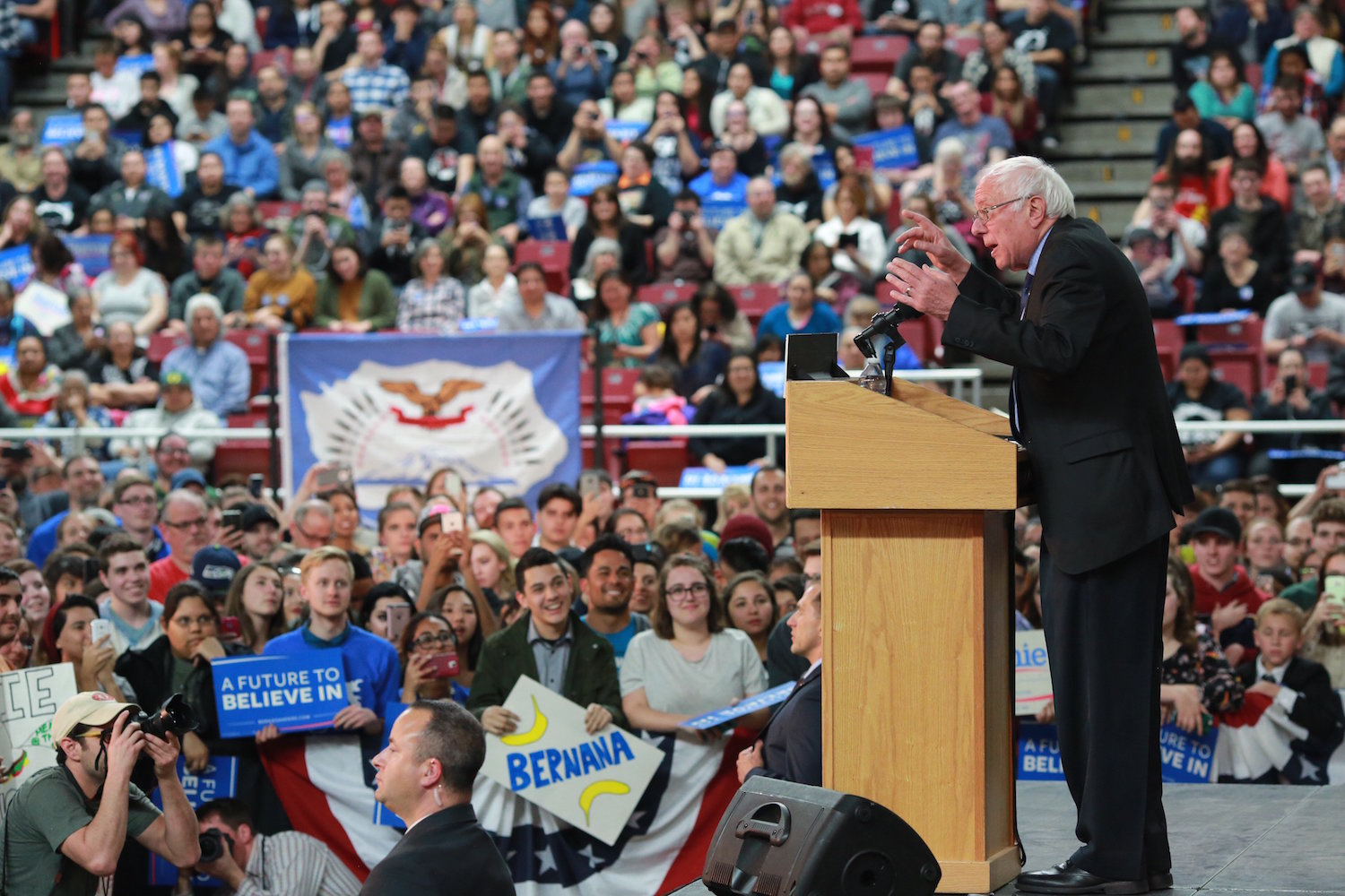 Bernie Sanders sweeps three states as Native issues stay on agenda