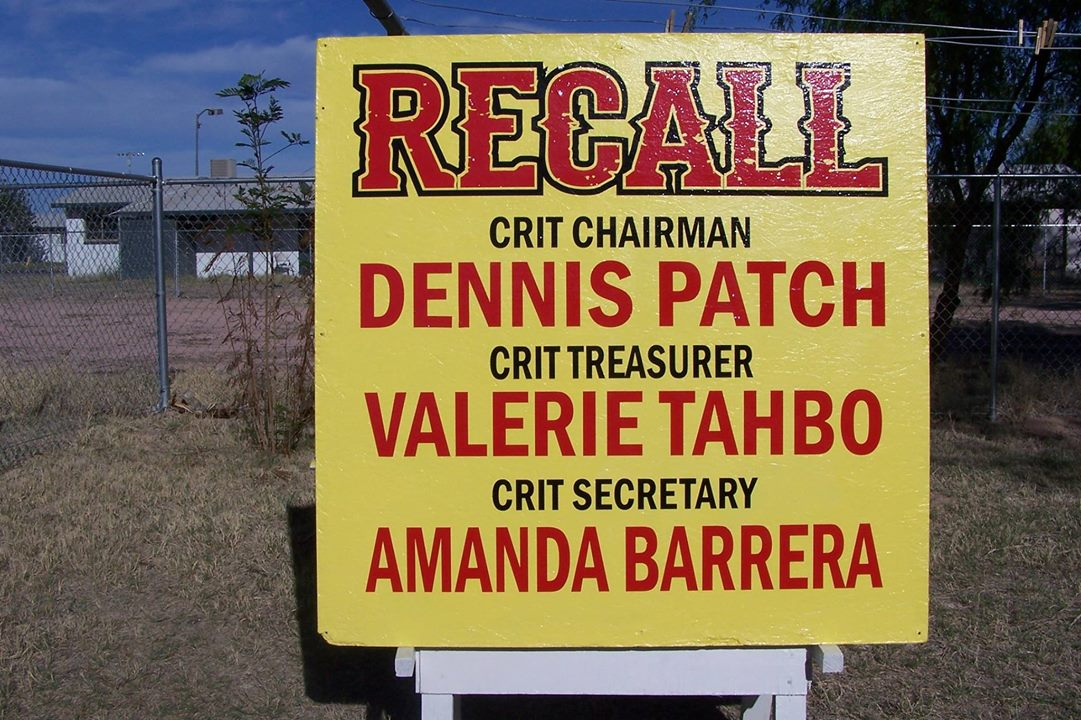 Top leaders of Colorado River Indian Tribes face recall petitions