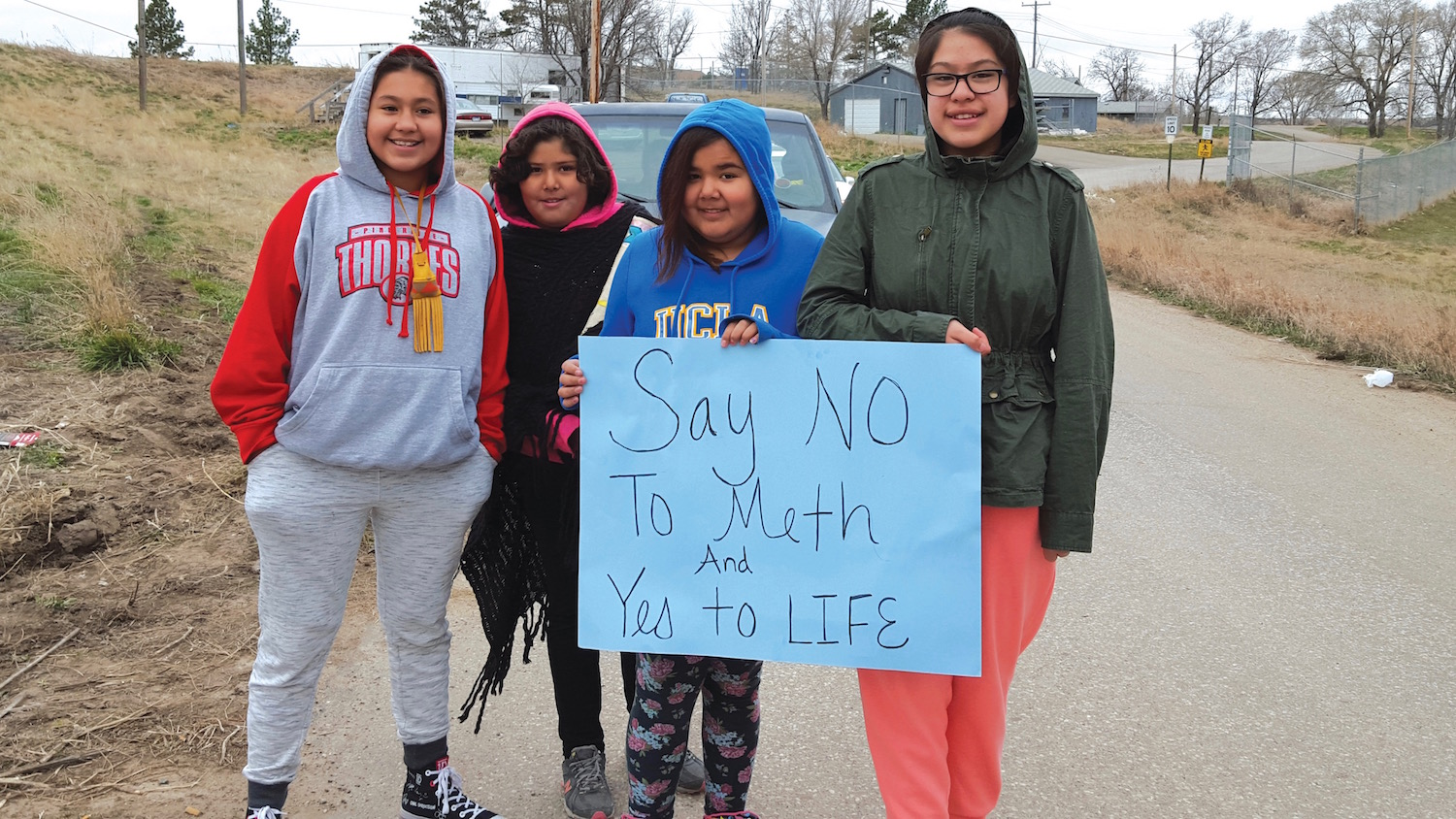 Native Sun News: Mothers against meth host rally at Pine Ridge