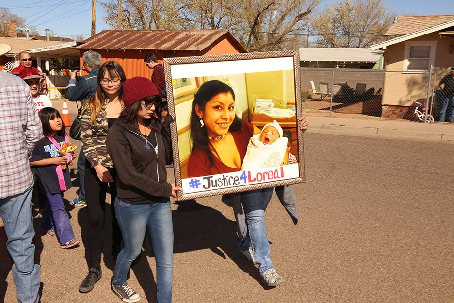 Border town promises change after fatal shooting of Navajo woman