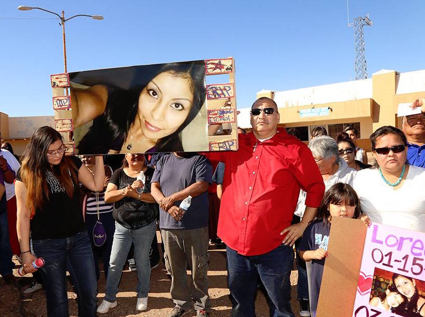 Albert Bender: Navajo woman gunned down by police officer in border town