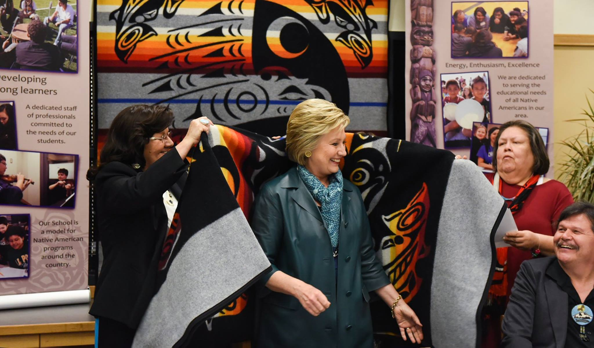 Gyasi Ross: Hillary Clinton can't stay quiet on #NoDAPL movement
