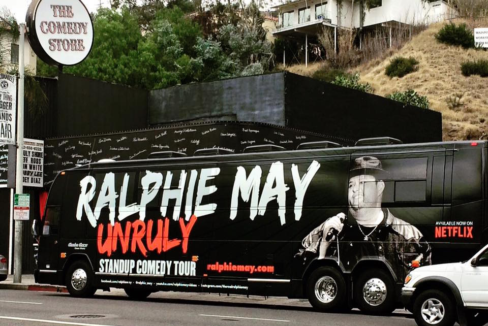 Comedian Ralphie May forced to postpone or cancel more shows