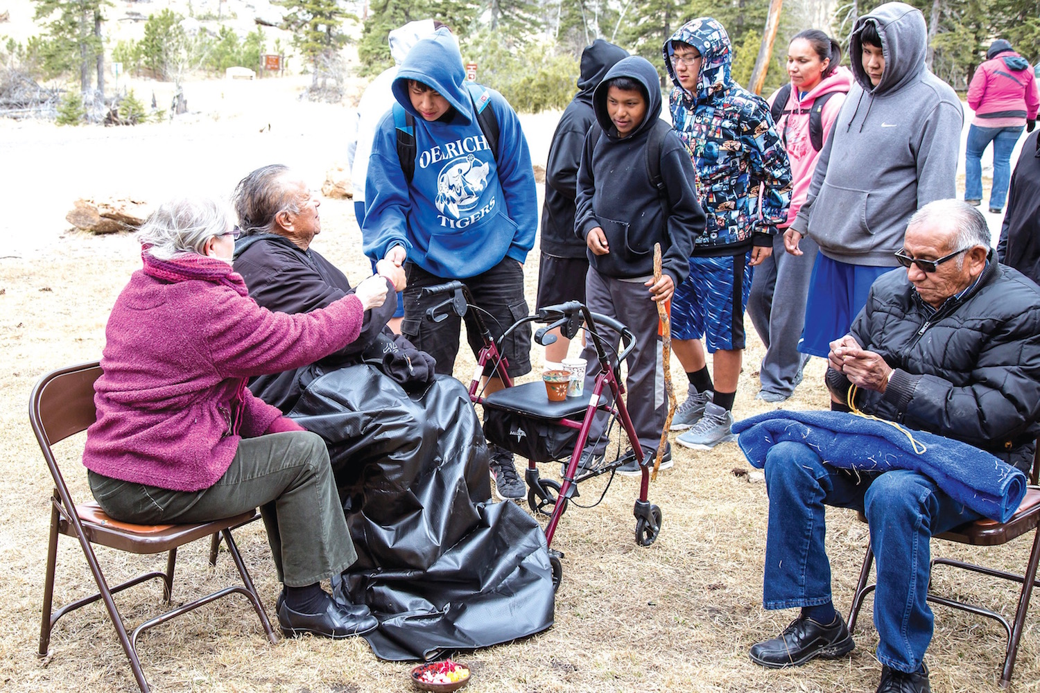 Native Sun News: Ceremony honors  caretaker of sacred Lakota site