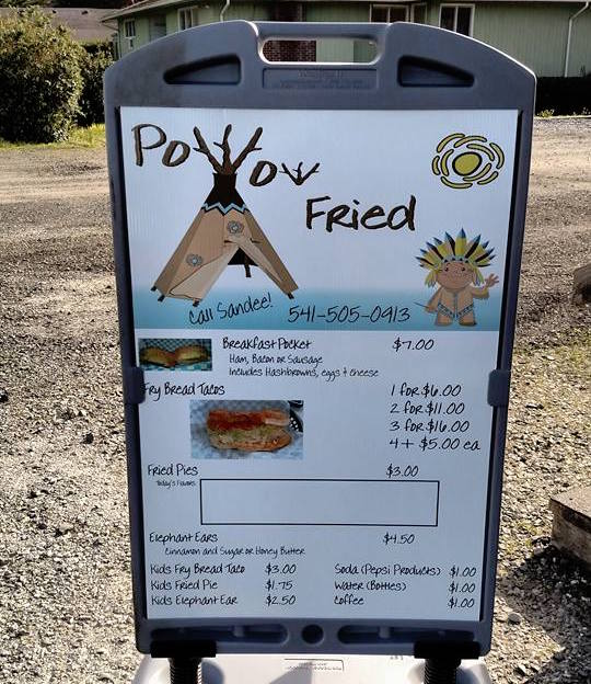 Non-Indian woman faces criticism over 'Pow Wow Fried' food truck