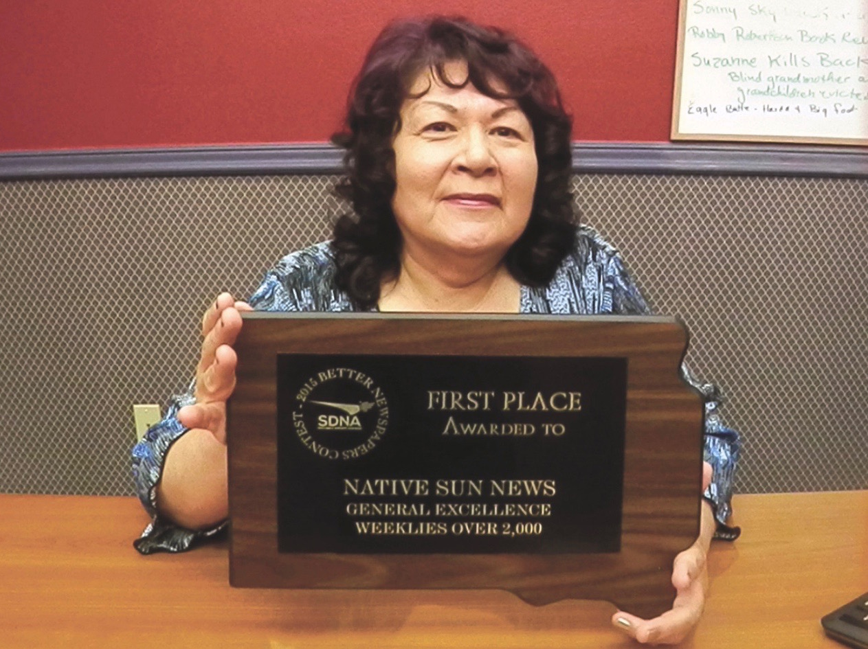 Native Sun News: Newspaper secures highest honor in South Dakota