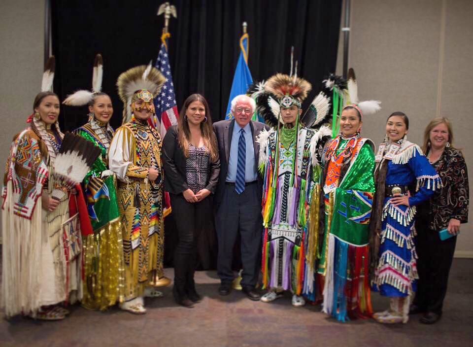 Mark Trahant: Media misses the story on Bernie Sanders in Indian Country