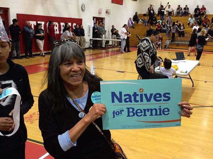 Leon Thompson: Bernie Sanders is fighting to protect Native rights