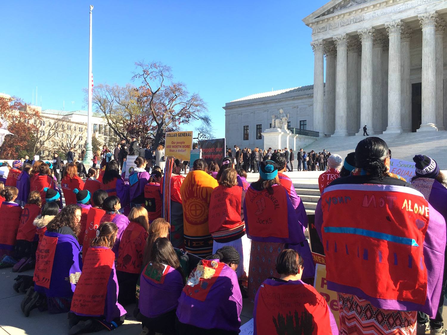 Native women hail Supreme Court decision on domestic violence