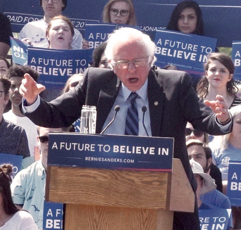 Native Sun News: Bernie Sanders stages rallies in Lakota country