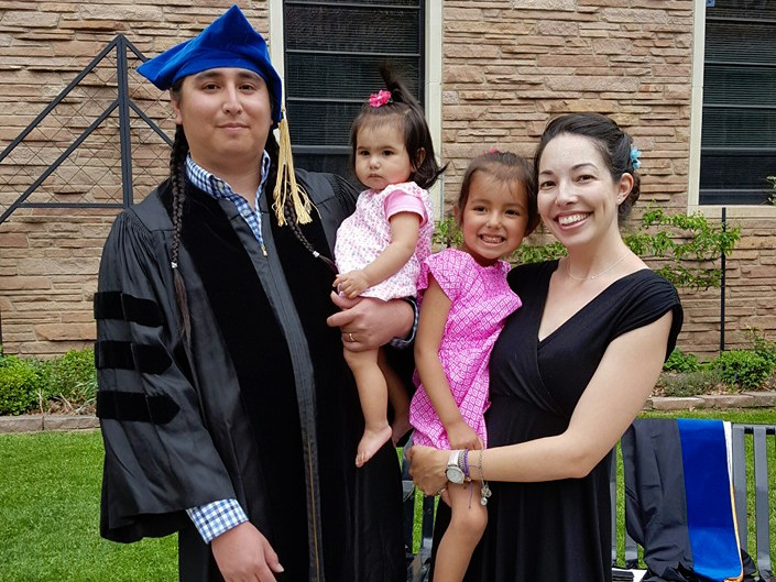 Lakota Country Times: Rosebud Sioux man earns doctoral degree