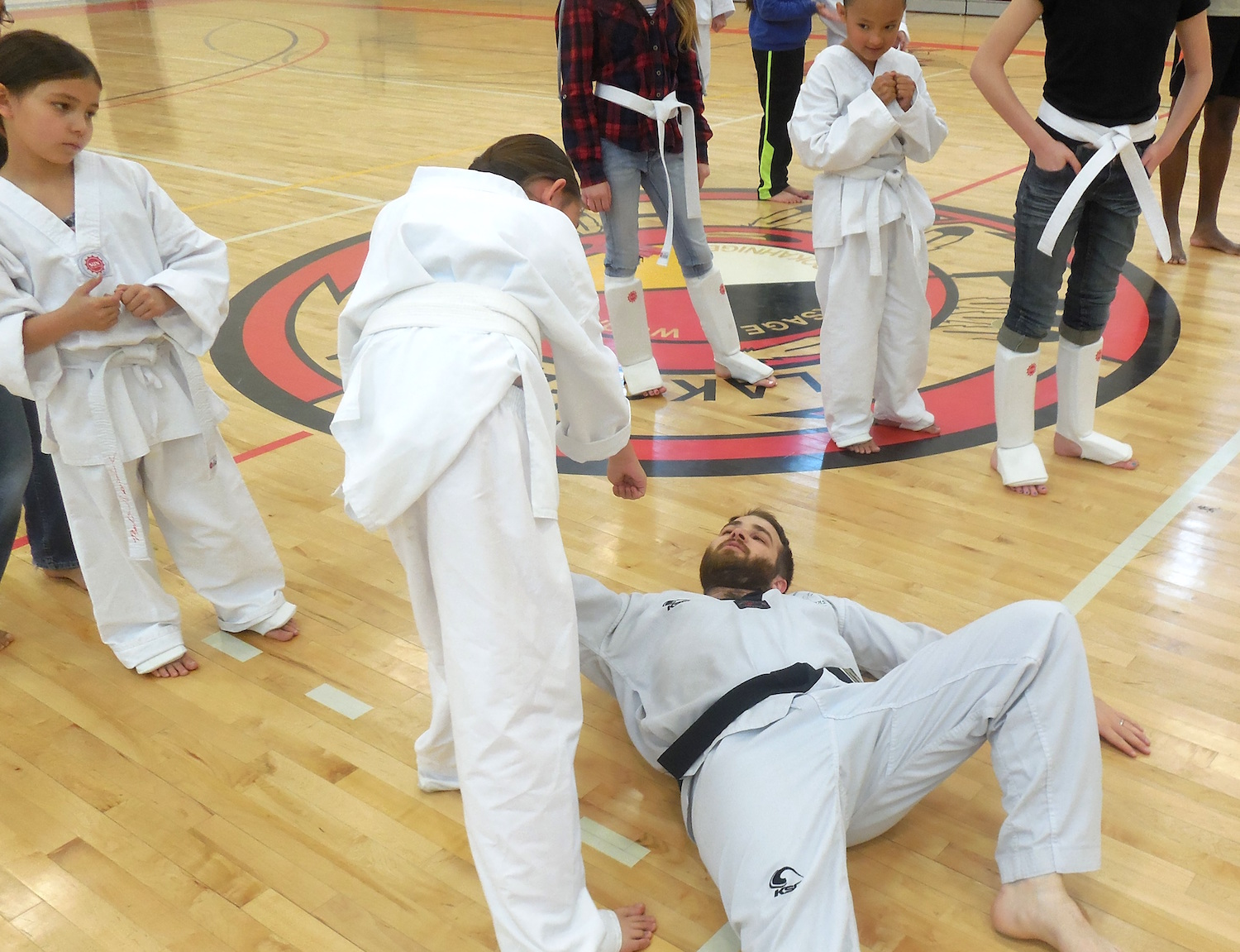 Lakota Country Times: Pine Ridge youth learn about martial arts