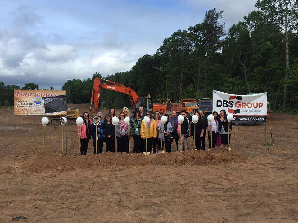 St. Croix Chippewa Tribe breaks ground on $30M retail expansion