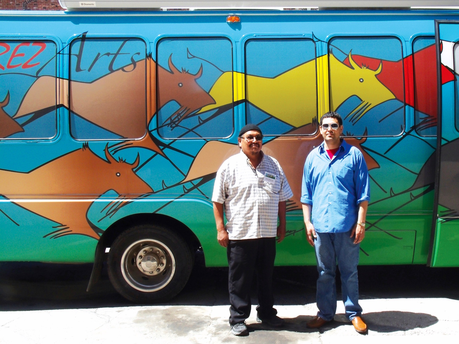 Native Sun News: Rolling Rez Arts van makes a stop in Rapid City