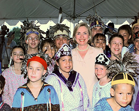 Doug George-Kanentiio: Hillary Clinton is the clear choice for the Iroquois