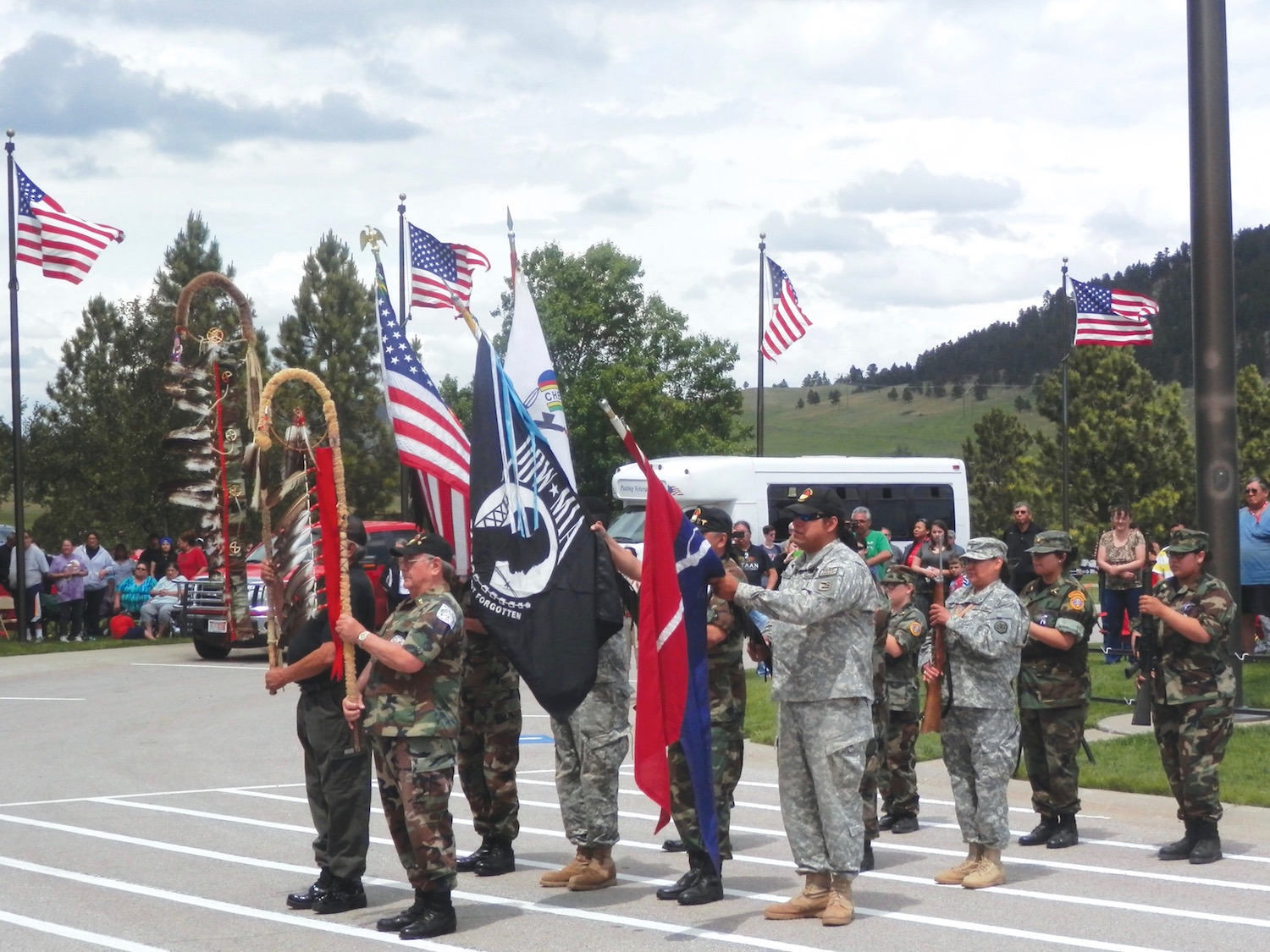 Native Sun News: Memorial Day ceremony honors tribal veterans