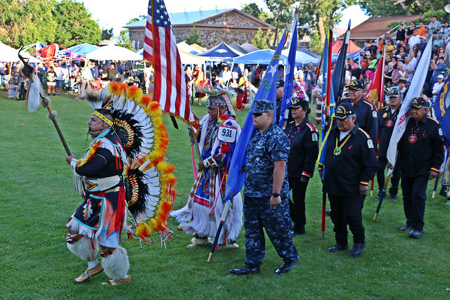 Indian school alumni gather for Father's Day powwow in Nevada