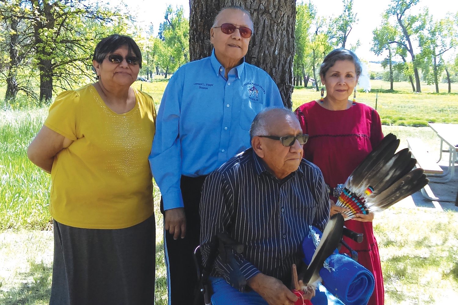 Native Sun News: Lakota elders finish four-month sacred journey