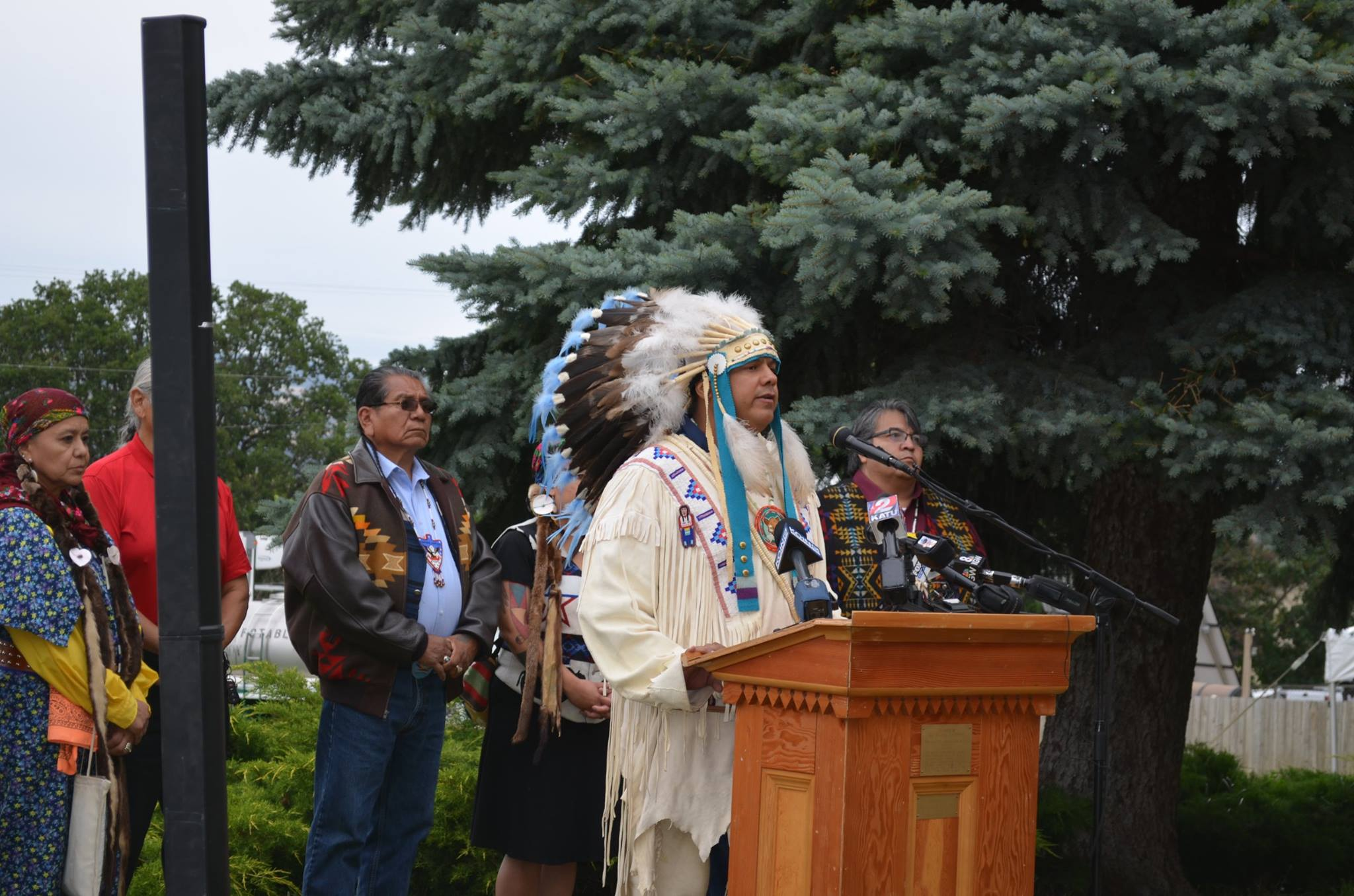 Northwest tribes call for end to oil shipments in treaty territory
