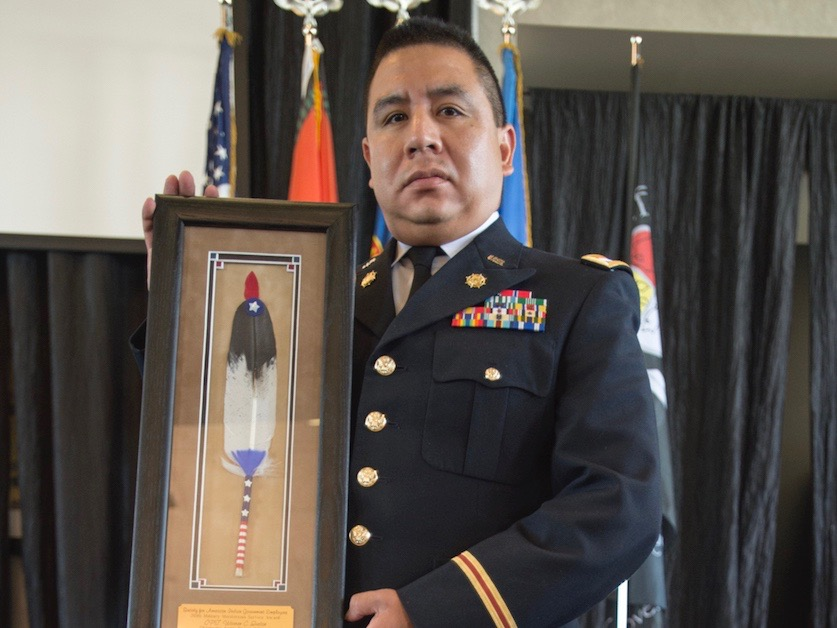 DVIDS: Tribal members recognized for their service in US military