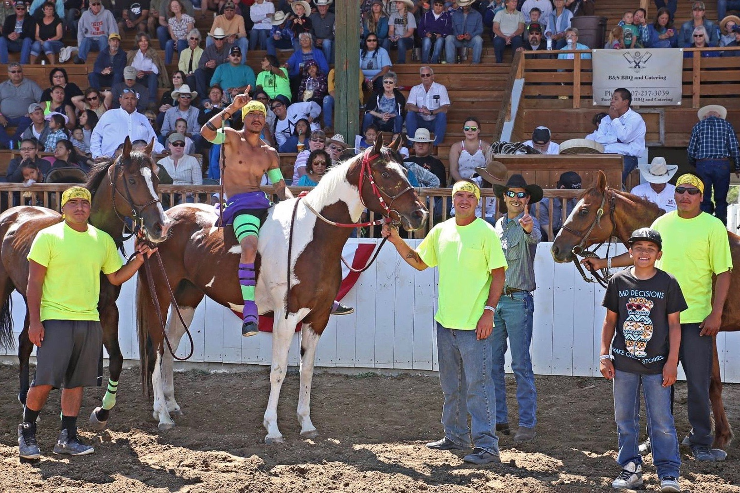 Lakota Country Times: Teams compete for Indian horse relay title