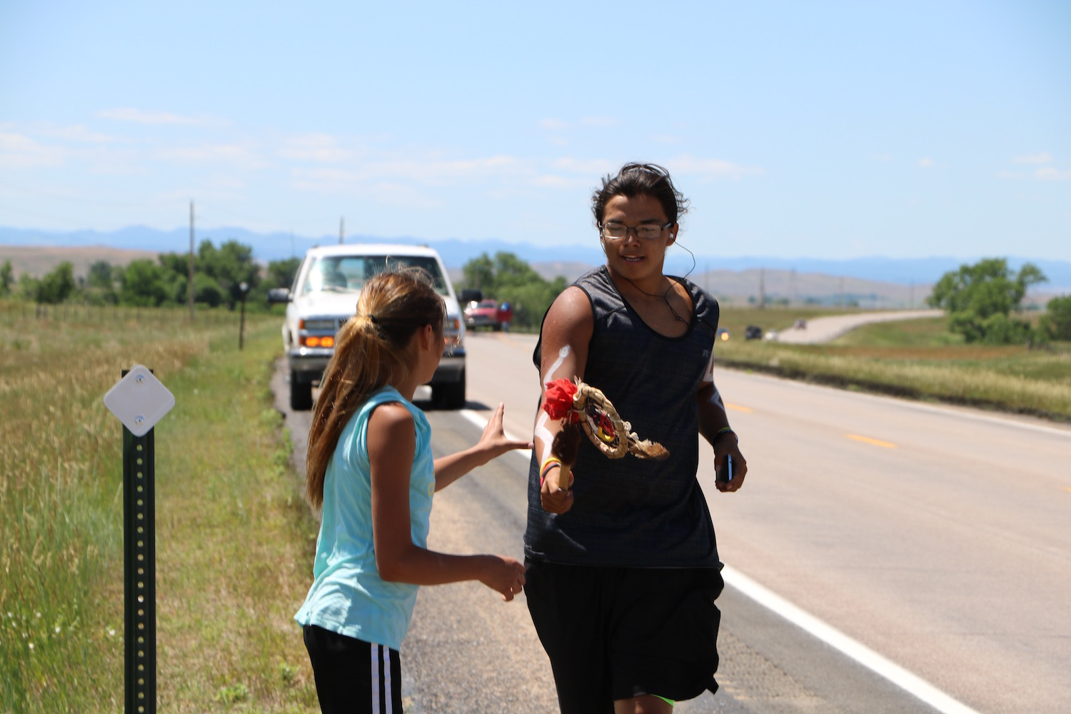 Lakota Country Times: Runners take 500-mile Sacred Hoop journey around Black Hills