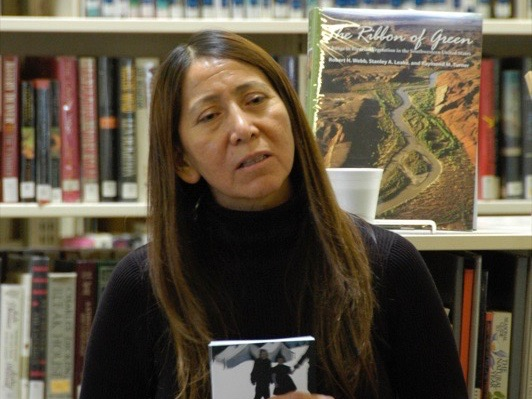 Delphine Red Shirt: Action speaks louder than words for the Lakota