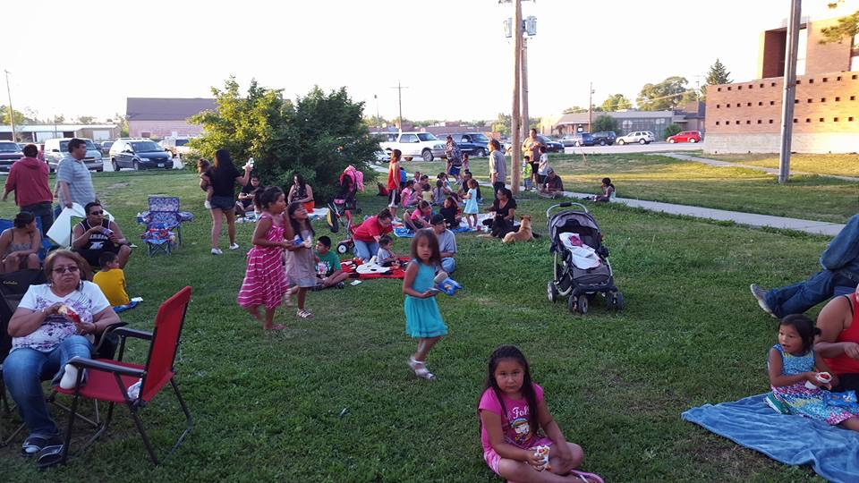 Lakota Country Times: Outdoor movie night a success at Pine Ridge