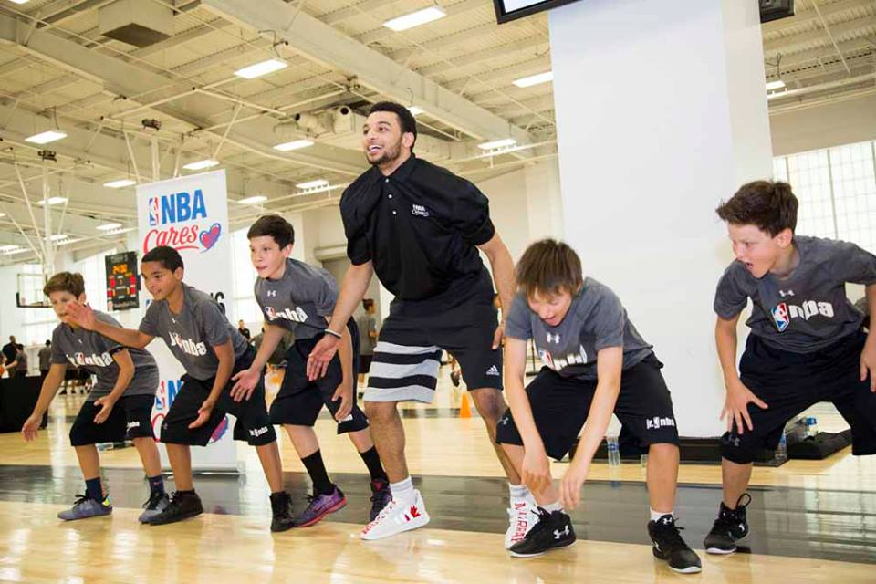 Native youth participate in first Jr. NBA camps in Indian Country